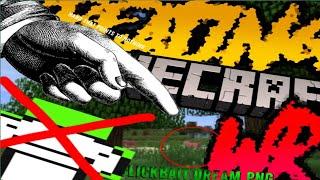 minecraft speedrun wr youtube% (legit)
