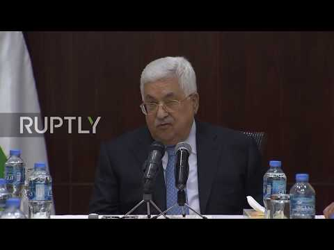 State of Palestine: 'The occupation does not want peace' - Abbas on Israeli airstrikes