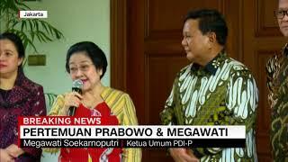 BREAKING NEWS! Ini Isi Pertemuan Prabowo & Megawati di Teuku Umar