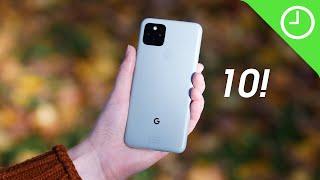 Pixel 5: TOP 10 new features!