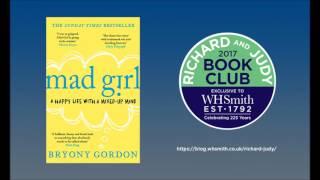 Bryony Gordon Mad Girl Richard and Judy Book Club WHSmith Spring 2017