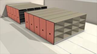 STORAGELogic of Maryland - What is High-Density Mobile Shelving?