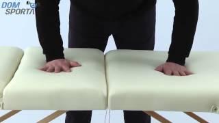Видео о Массажный стол Art Of Choice Sol Comfort Purple
