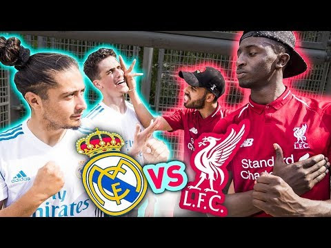 REAL VS LIVERPOOL - CHAMPION'S LEAGUE CHALLENGE !