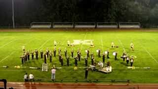 2014 ECCHS Marching Band, Kane Exhibition