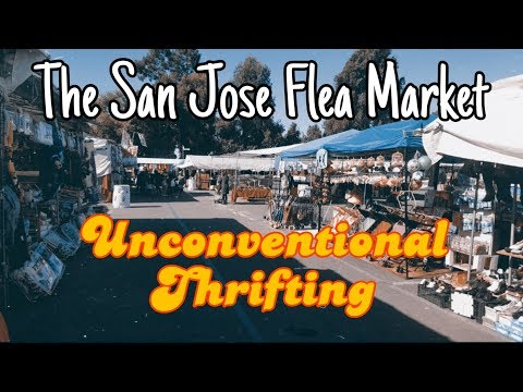 Thrifting At The San Jose Flea Market! | Unconventional Thrifting! | Resale On Poshmark And Ebay