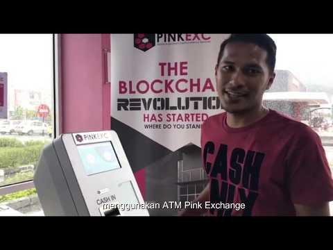 DARI BITCOIN JADI Ringgit Malaysia... Mesin ATM PINK EX