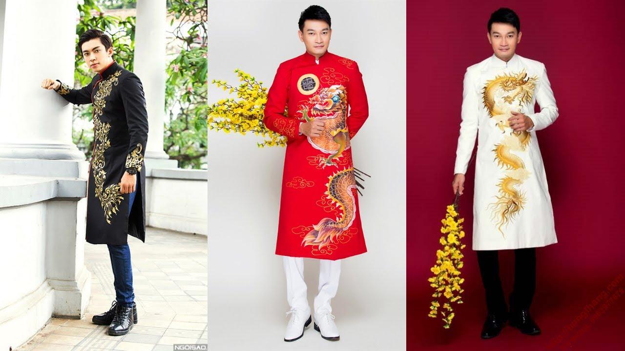 Thiết kế áo dài cách tân nam – Mặc sao cho Đẹp, Sang, Đẳng Cấp