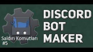 Basit Oda Spam Komutu | Discord Bot Maker Basit Saldırı Komutları #5
