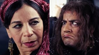 فيفا أطاطا - مشهد كوميدي لـ محمد سعد ... مالك يا بت أنا إتفرجت على أفلام التحرش كلها
