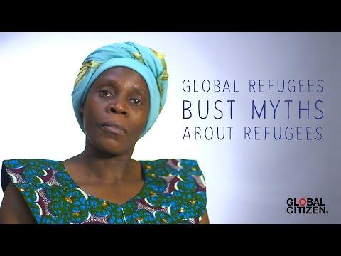 I AM A REFUGEE: Global refugees bust myths