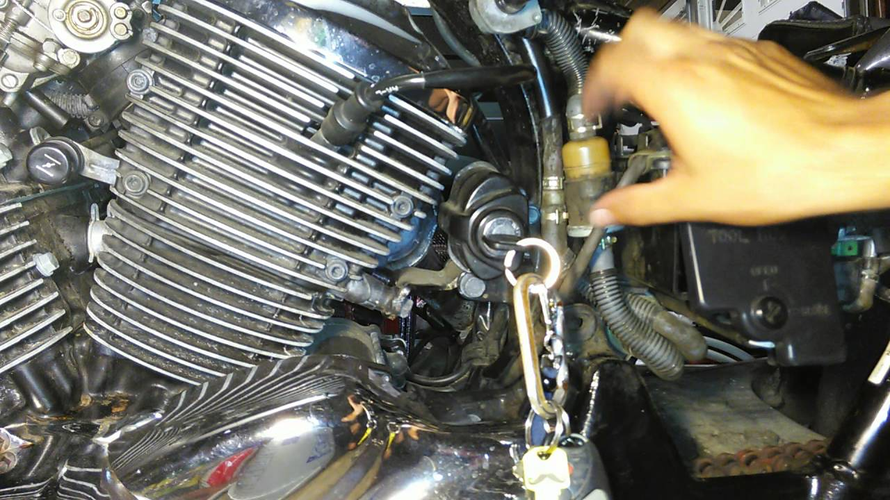 Honda Shadow Vt750 won't start, not getting fuel, solution found!