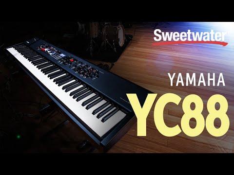 Yamaha YC88 88-key Stage Keyboard Demo