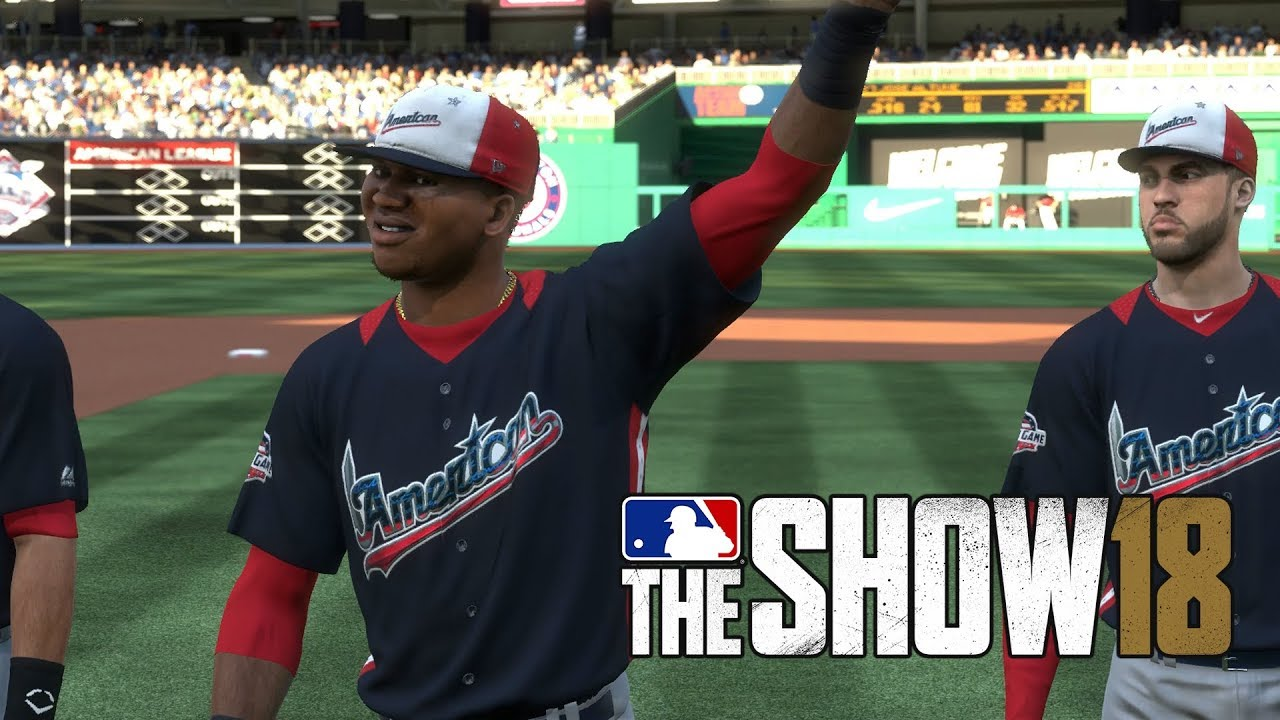f8cad699 MLB 18 The Show All Star Game National League vs American League Nationals  Park MLB 18 The Show