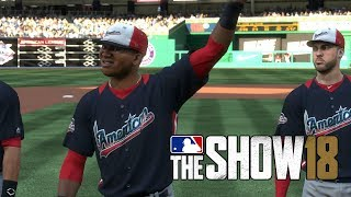 MLB 18 The Show All Star Game National League vs American League Nationals Park MLB 18 The Show