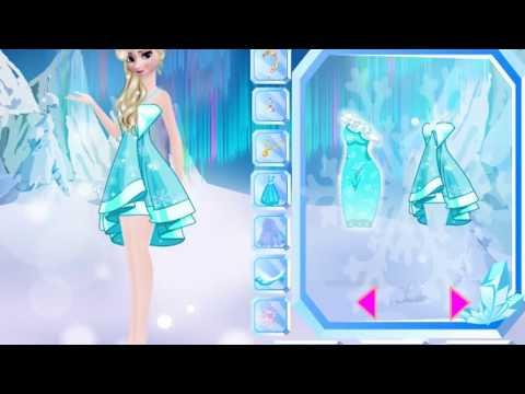 Frozen Sisters Dress Up (Холодное сердце одевалка: сестры Анна и Эльза) - прохождение игры