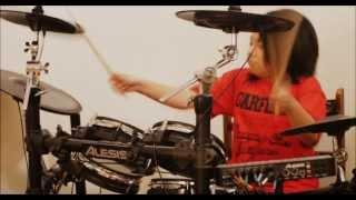Titanium - 9 yr old drummer - Sean Samonte