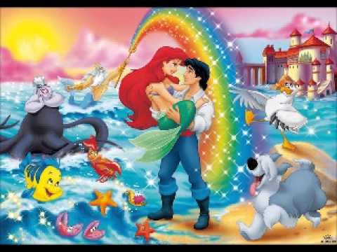 Kiss The Girl Ariel From The Little Mermaid
