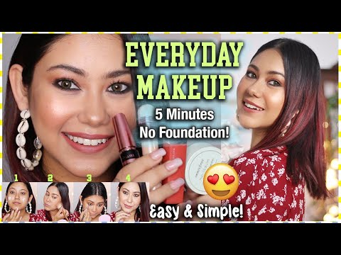 My Everyday Makeup Routine | No Foundation Easy, Affordable Products | ThatQuirkyMiss thumbnail