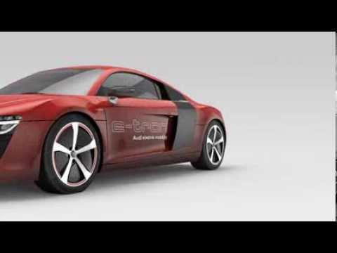 Audi R8 e-tron // Animation