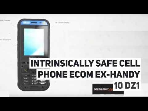 Intrinsically Safe Cell Phone Ecom Ex Handy 10 DZ1