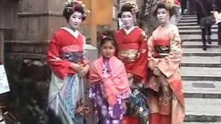 Trip to Kyoto - Part Three: Maiko Kimono Rental