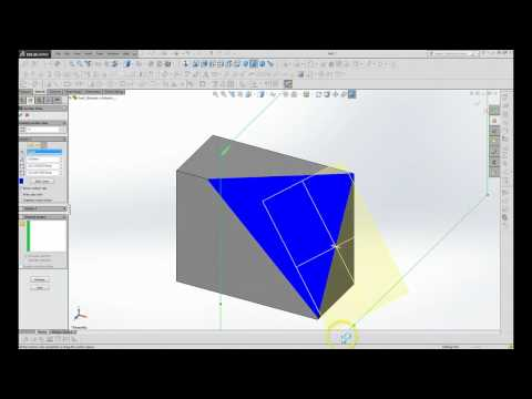 how to change angle of plane solidworks