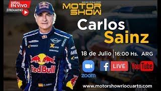 Entrevista a Carlos Sainz - Motor Show Río Cuarto 2020