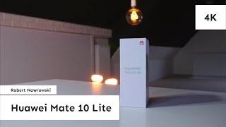 Huawei Mate 10 Lite Rozpakowanie i konfiguracja | Robert Nawrowski