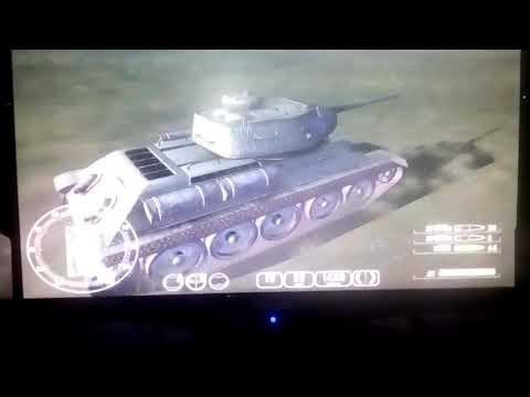 Играем в игру Т-34 ПРОТИВ ТИГРА
