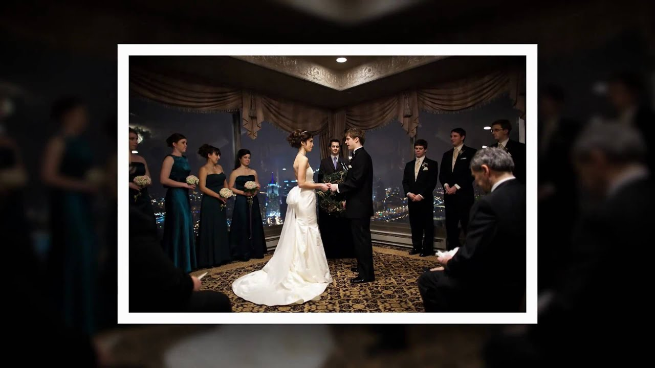 Pittsburgh Wedding And Reception At Lemont Youtube