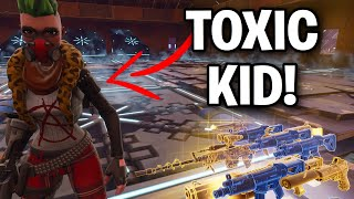 You won't believe what this scammer did! 😤😂 (Scammer Get Scammed) Fortnite Save The World