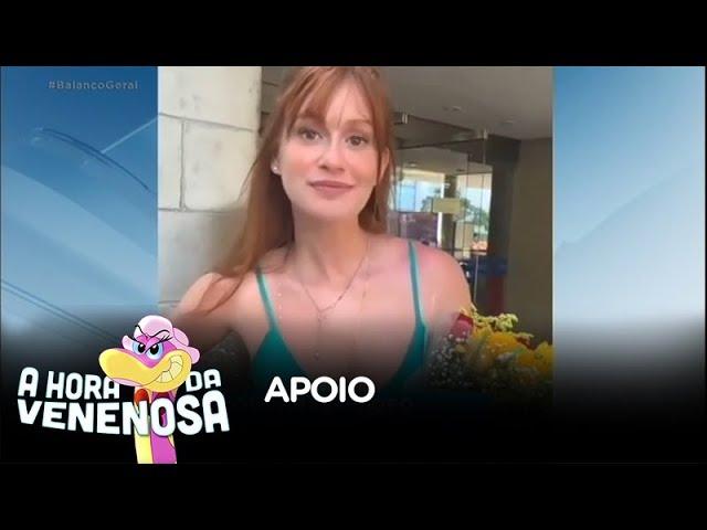 Marina Ruy Barbosa agradece apoio dos fãs nas redes sociais