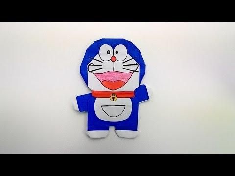 Origami Doraemon / พับกระดาษ โดราเอม่อน ドラえもん