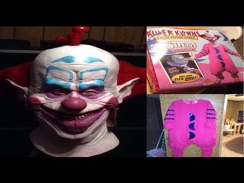 Unboxing The Killer Klowns From Outer Space - Slim Halloween Costume