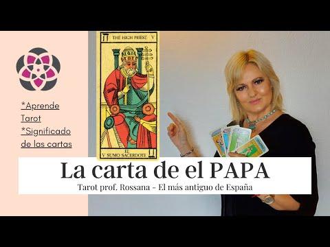 La Carta de EL PAPA o SUMO SACERDOTE en el TAROT ARCANOS MAYORES significado APRENDE TAROT