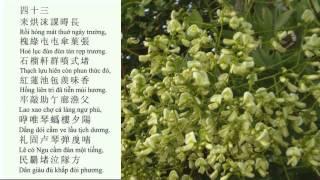 """Bài học """"Cảnh ngày hè"""" (Nguyễn Trãi) của học sinh lớp 10A1 trường THCS&THPT Phạm Văn Đồng - Hà Nội"""