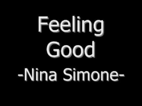 Feeling Good -Nina Simone (Lyrics) - YouTube