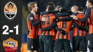 Download Video Shaktar Donetsk vs AS Roma 2 - 1 // all Goals and Highlight MP3 3GP MP4