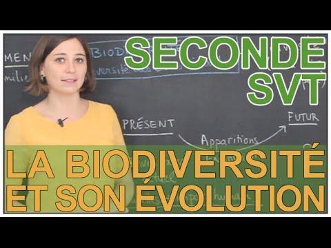 La biodiversité et son évolution - SVT - Seconde - Les Bons Profs