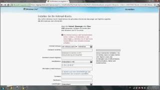 E-Mail Adresse erstellen