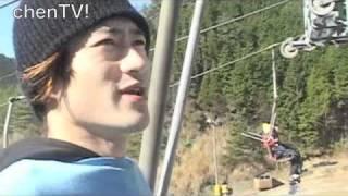 キャシャーンの初滑りは愛媛県、久万スキーランド。