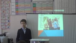 Фрагмент урока английского языка.  Учитель Якимчук С.И.