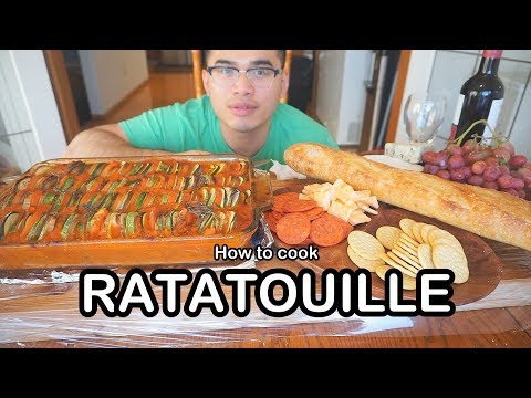 How to cook RATATOUILLE