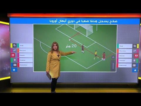 هدف -مستحيل- لمحمد صلاح في دوري أبطال أوروبا  - 18:00-2019 / 12 / 11