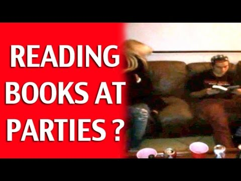 Reading a Book at a Party: Introvert Dating Advice (+very short infield)