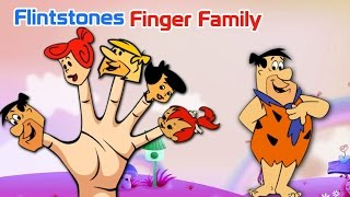 Flintstones Finger Family Rhyme | English Nursery Rhymes|Kid's Rhymes|Children English Song