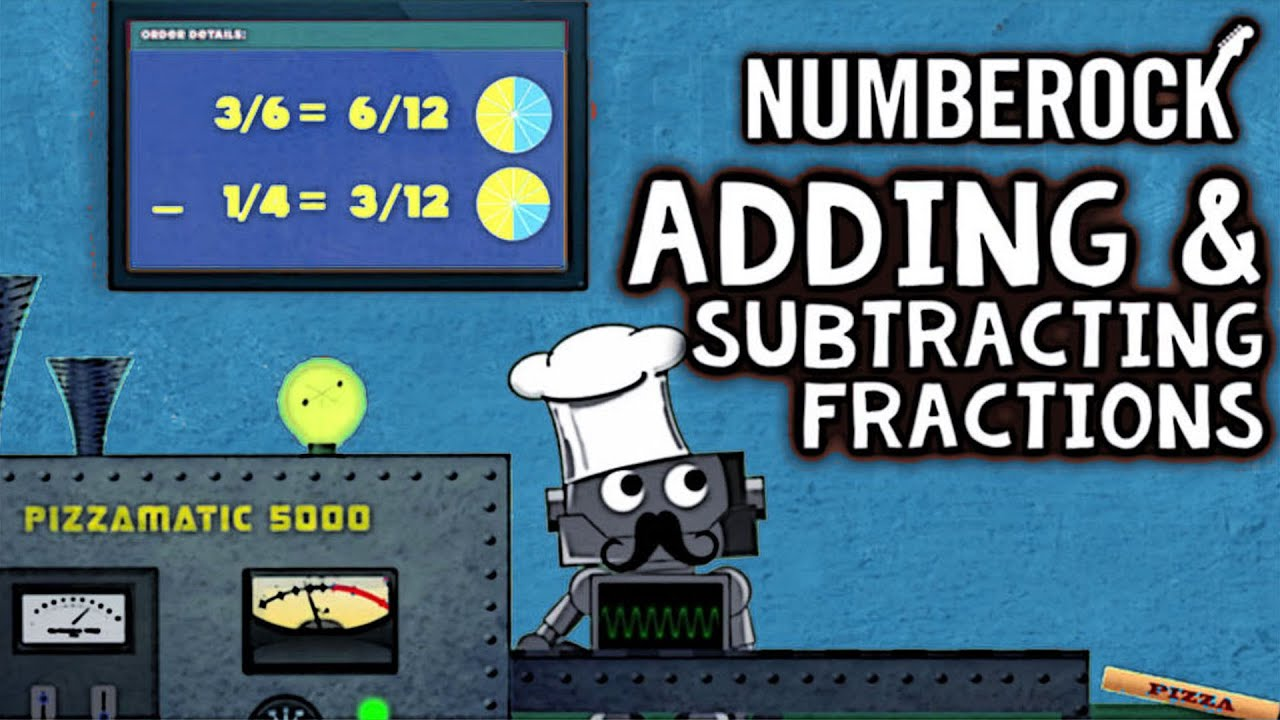 medium resolution of Adding \u0026 Subtracting Fractions Song: LIKE and UNLIKE Denominators - YouTube