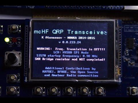 mcHF SDR QRP Transceiver