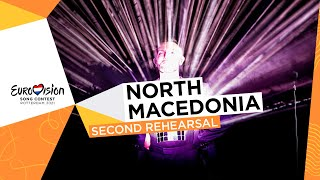 Vasil - Here I Stand - Second Rehearsal - North Macedonia 🇲🇰 - Eurovision 2021